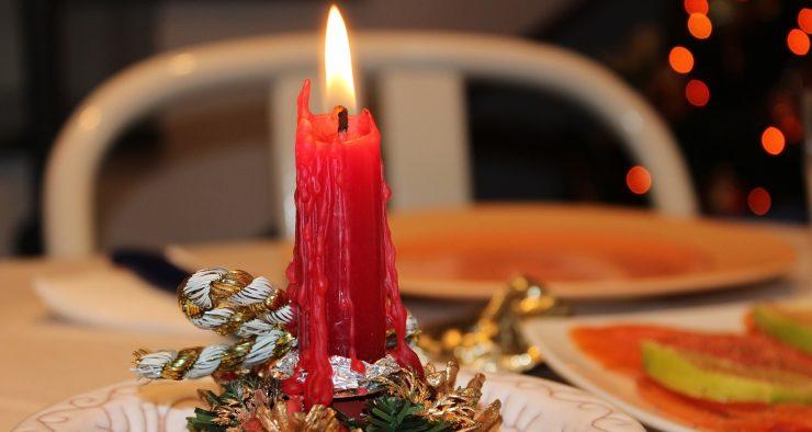 lumânare de Crăciun